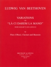 Variations On 'La Ci Darem La Mano' From Mozart's  (オーボエ三重奏)【Variations On 'La Ci Darem La Mano' From Mozart's 'Don Gio】