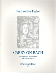 Carry On Bach! (バスーン三重奏)【Carry On Bach!】