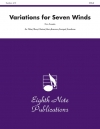 Variations for Seven Winds (ミックス七重奏)【Variations for Seven Winds】