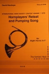 Hornplayers' Retreat And Pumping Song (ホルン八重奏)【Hornplayers' Retreat And Pumping Song】