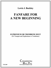 Fanfare for a New Beginning(ユーフォニアム二重奏)【Fanfare for a New Beginning】