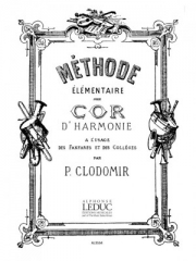Methode Elementaire De Cor D'Harmonie(ピエール・クロドミール)(ホルン)