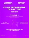 漸進的練習曲・Vol.3 (Jean-Marc Lajudie)【Etude Progressive de Batterie 3】