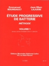 漸進的練習曲・Vol.1 (Jean-Marc Lajudie)【Etude Progressive de Batterie 1】