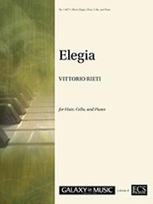 哀歌(ヴィットリオ・リエティ)(フルート+チェロ+ピアノ)【Elegia ...
