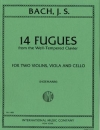 "14のフーガ・Vol.2(バッハ)(弦楽四重奏)【14 Fugues (from ""The Well-Tempered Clavier"") Volume II 】"