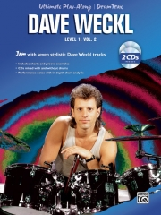 デイブ・ウェックル曲集・Vol.2(ドラム)【Ultimate Play-Along Drum Trax: Dave Weckl, Level 1, Volume】